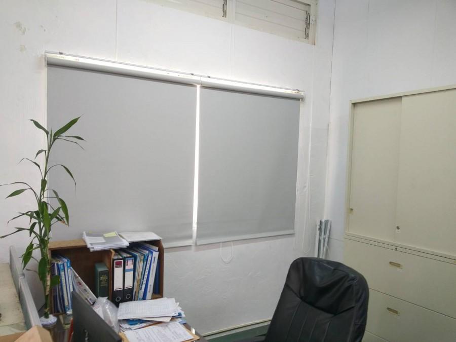 大園工業區_辦公室全遮光防焰捲簾