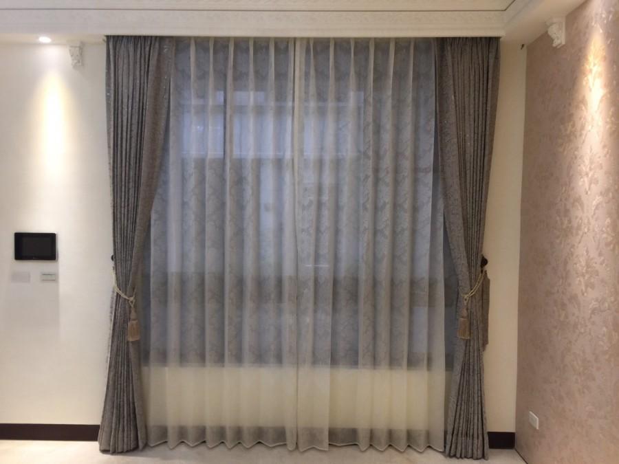 楊梅森自在透天別墅_客廳景觀落地窗